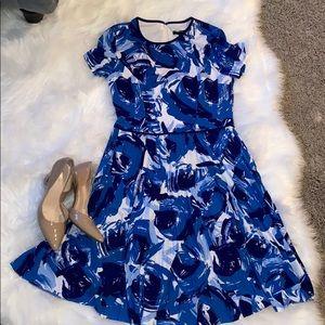 Pleated skirt dress!